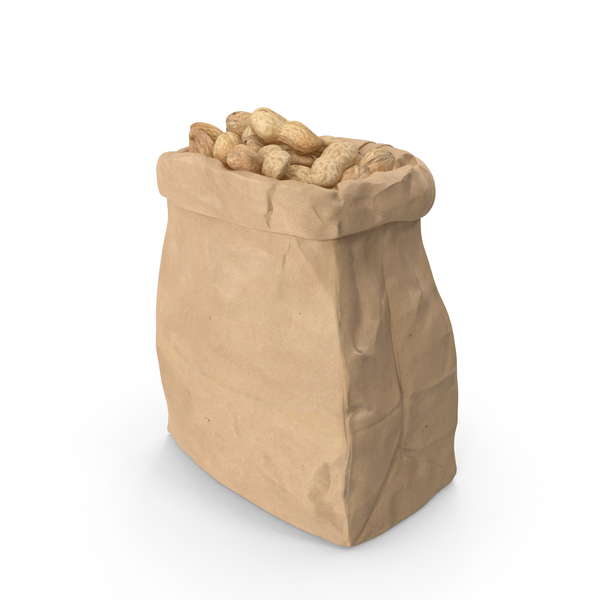 Bag of Peanuts PNG & PSD Images