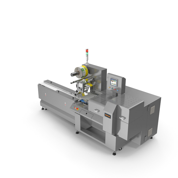 Bakery Foods Packaging Machine PNG & PSD Images
