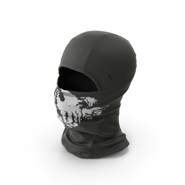 Balaclava Mask Black PNG & PSD Images