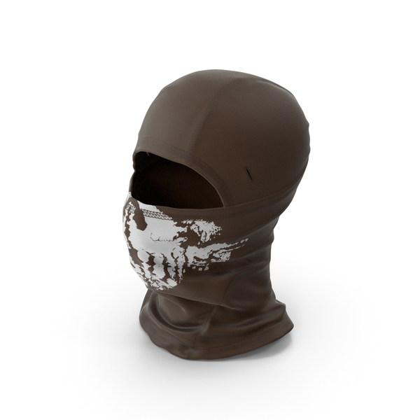 Balaclava Mask Brown PNG & PSD Images