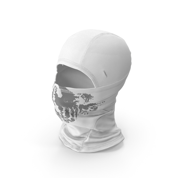 Balaclava Mask White PNG & PSD Images