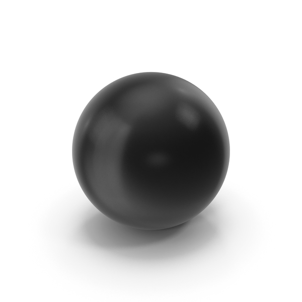 Sphere: Ball Black PNG & PSD Images