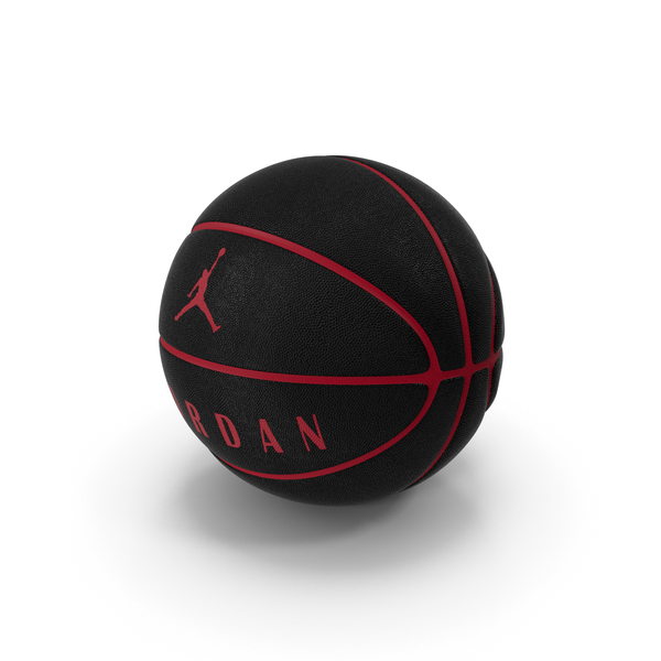 Ball Jordan Ultimate Black PNG & PSD Images