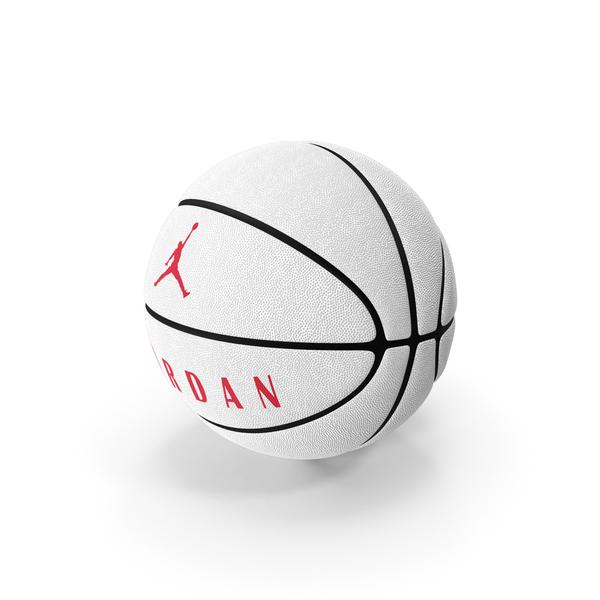 Ball Jordan Ultimate White PNG & PSD Images
