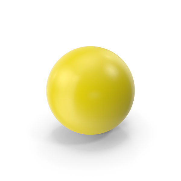 Ball Yellow PNG & PSD Images