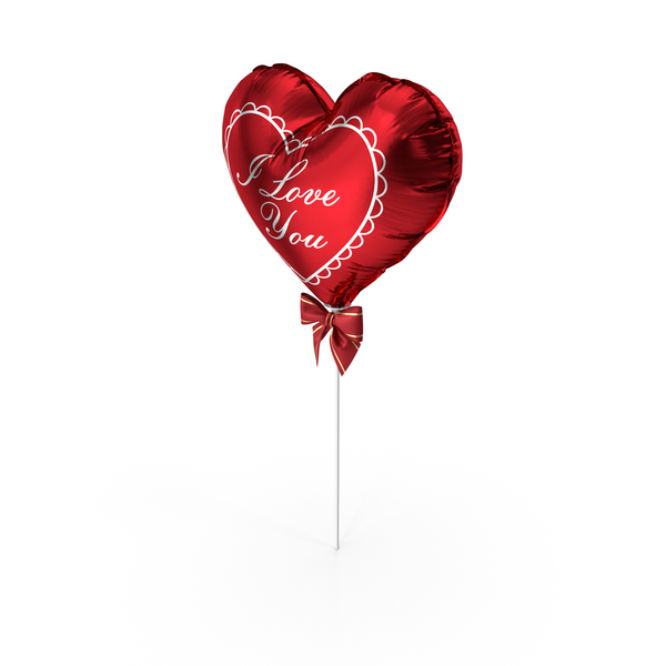 Balloon Heart PNG & PSD Images