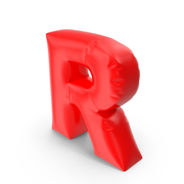 Balloon Letter R PNG & PSD Images