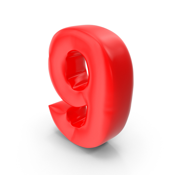 Balloon Number 9 PNG & PSD Images