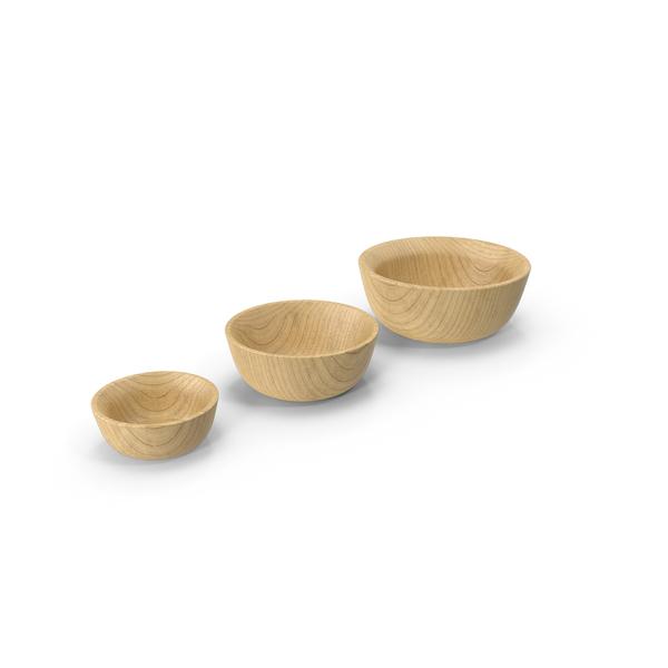 Bamboo Bowl Set PNG & PSD Images