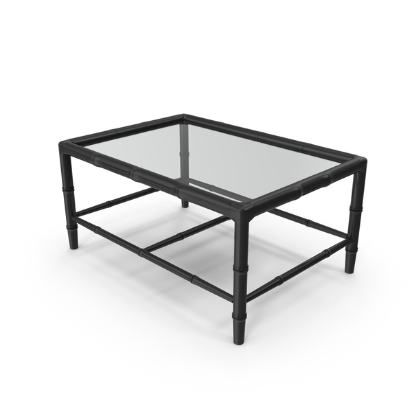Bamboo Chippendale Coffee Table Object