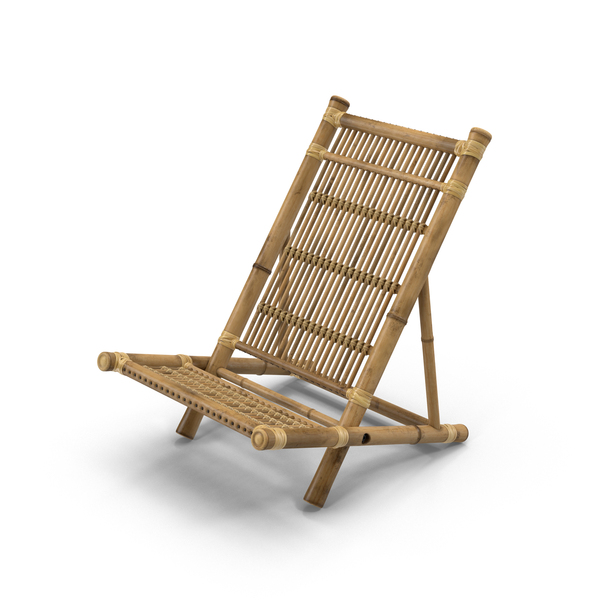 Bamboo Outdoor Chair Object