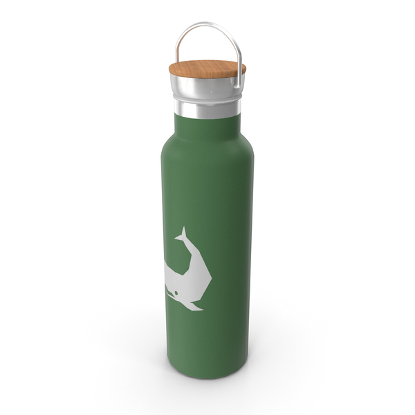 Bamboo Thermos PNG & PSD Images