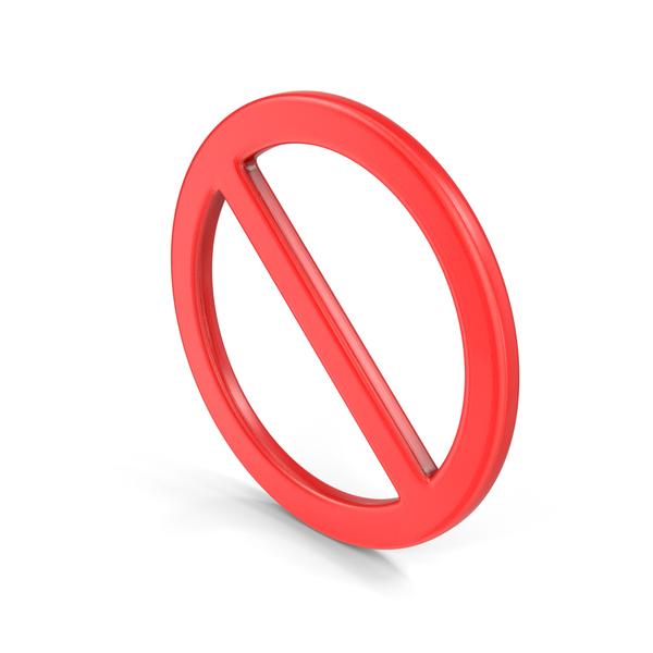 Ban Symbol PNG & PSD Images