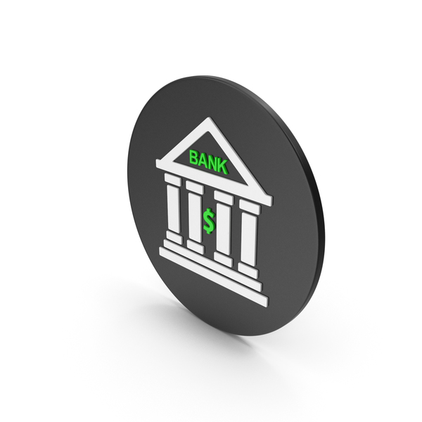 Computer: Bank Icon PNG & PSD Images