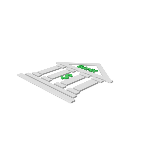 Computer Icon: Bank Symbol PNG & PSD Images