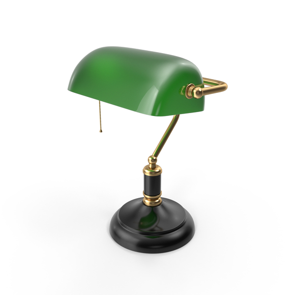 Bankers Lamp Object