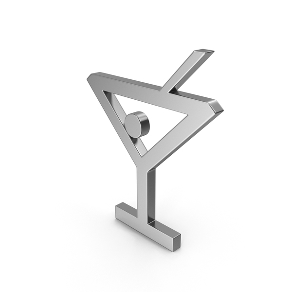 Bar Glass Symbol Silver PNG & PSD Images