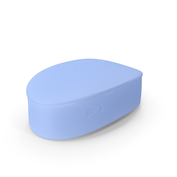 Bar of Soap Oval Object