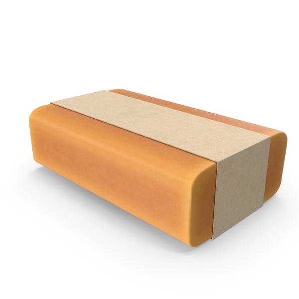 Bar Soap Package Orange PNG & PSD Images