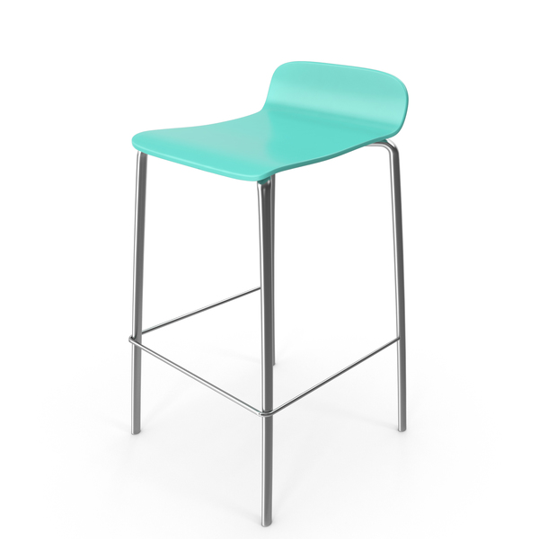 Bar Stool Green PNG & PSD Images