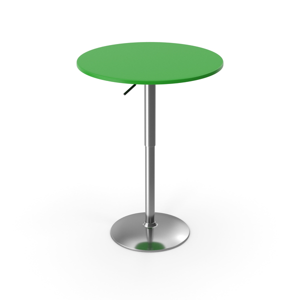 Cafe: Bar Table Green PNG & PSD Images