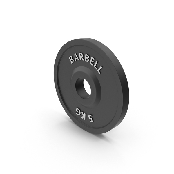 Barbell Weight 5 kg PNG & PSD Images