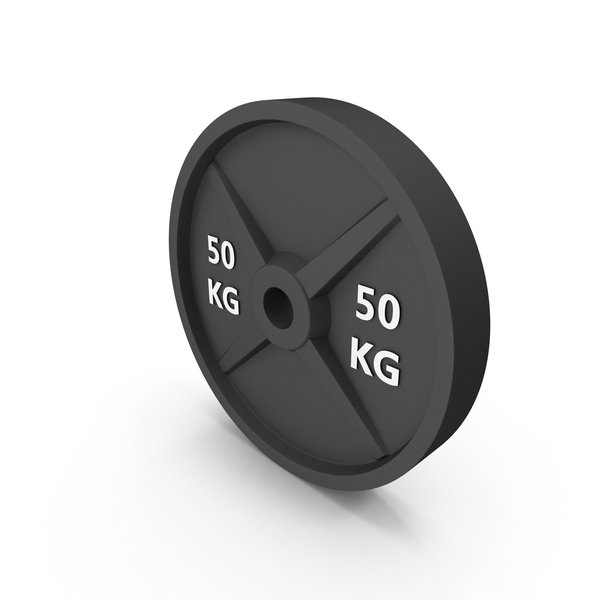 Barbell Weight 50kg Object