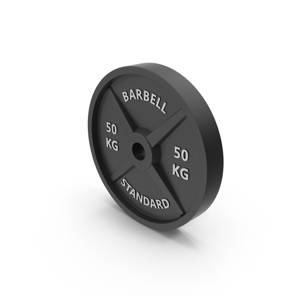 Barbell weight standard 50 kg PNG & PSD Images