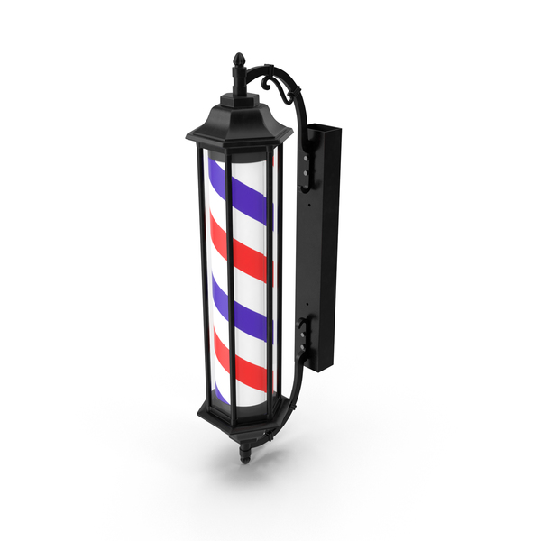Barber Shop Pole PNG & PSD Images