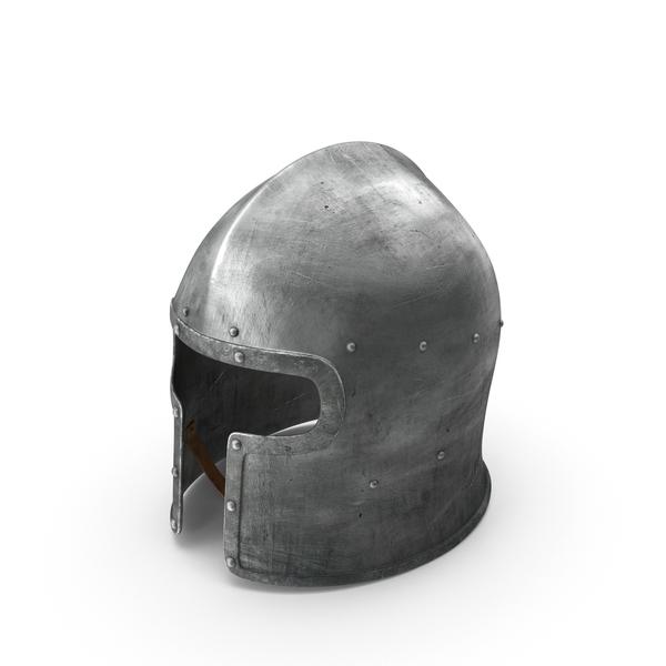 Barbuta Medieval Helmet PNG & PSD Images