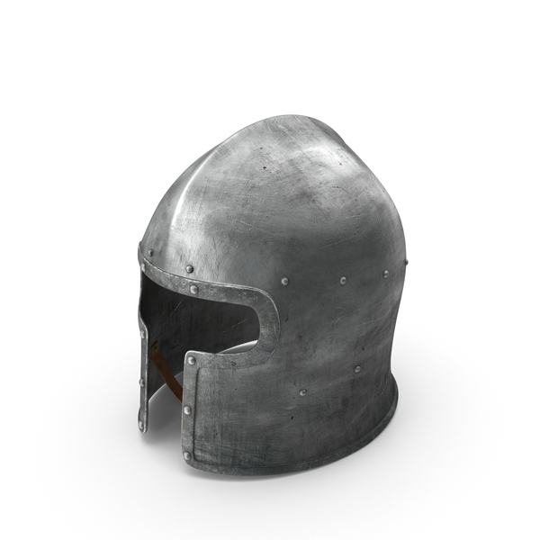 Barbuta Medieval Helmet Object