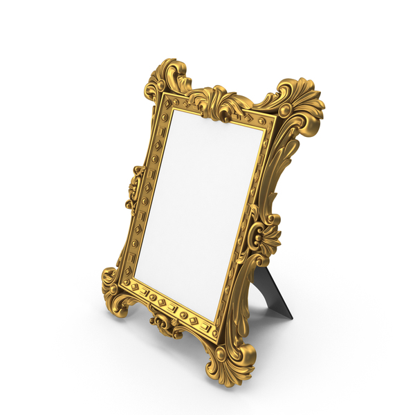 Picture: Baroque Photo Frame Light PNG & PSD Images