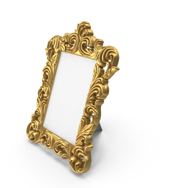 Baroque Photo Frame PNG & PSD Images