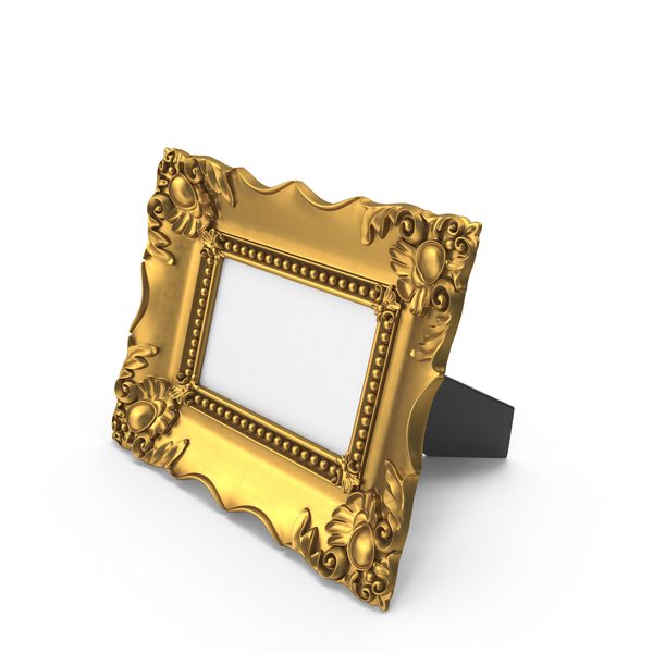 Picture: Baroque Photo Frame PNG & PSD Images