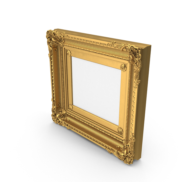 Baroque Pictureframe PNG & PSD Images