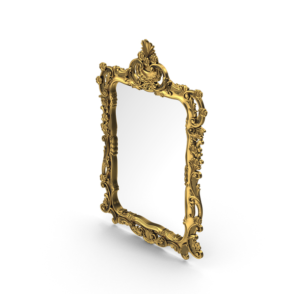 Baroque Wall Mirror PNG & PSD Images