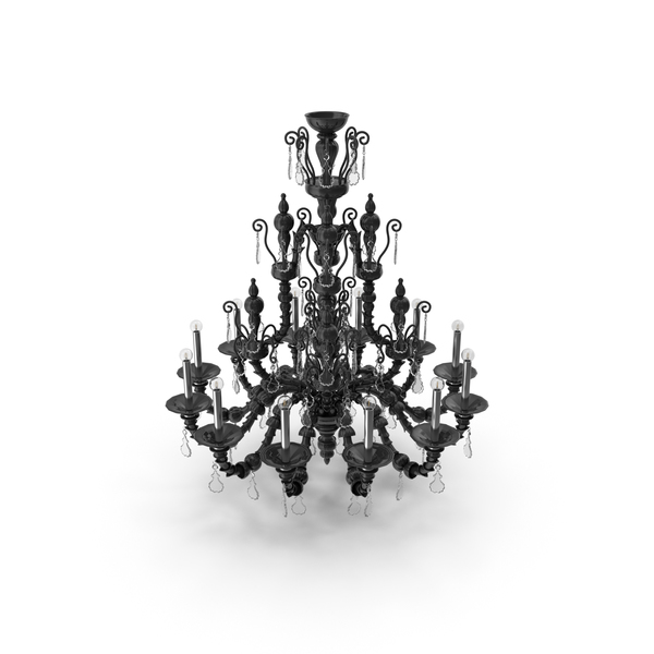 Barovier Toso Taif Murano Glass Chandelier PNG & PSD Images