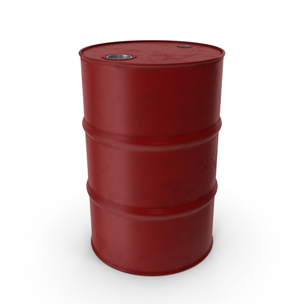 Barrel Metal Clean Red PNG & PSD Images