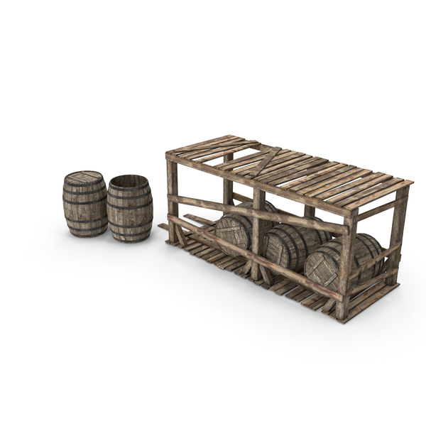 Barrel Storage PNG & PSD Images