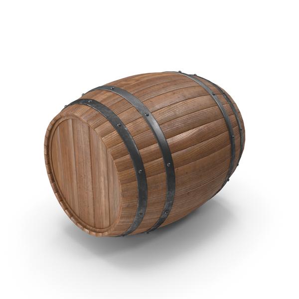 Wooden: Barrel PNG & PSD Images