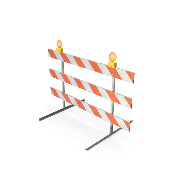 Road Safety Barrier: Barricade Type Dirt PNG & PSD Images