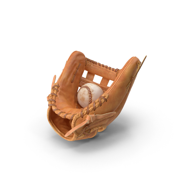Baseball Glove and Baseball Object