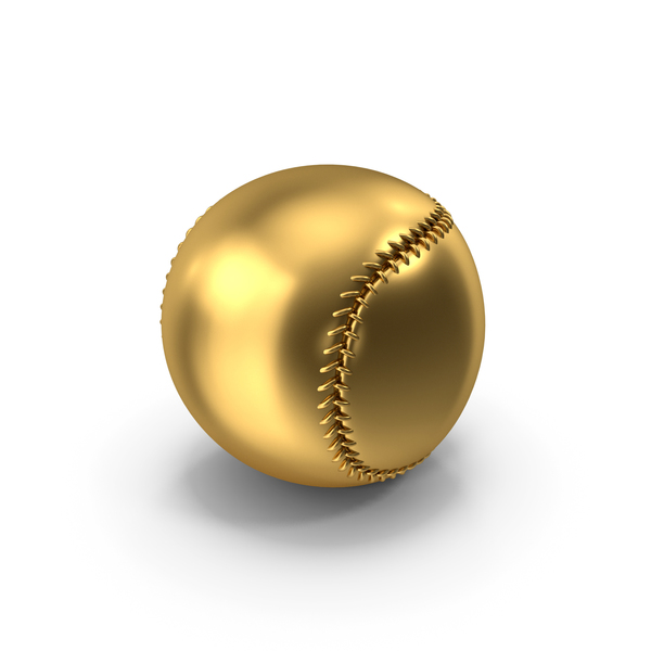 Baseball Gold PNG & PSD Images