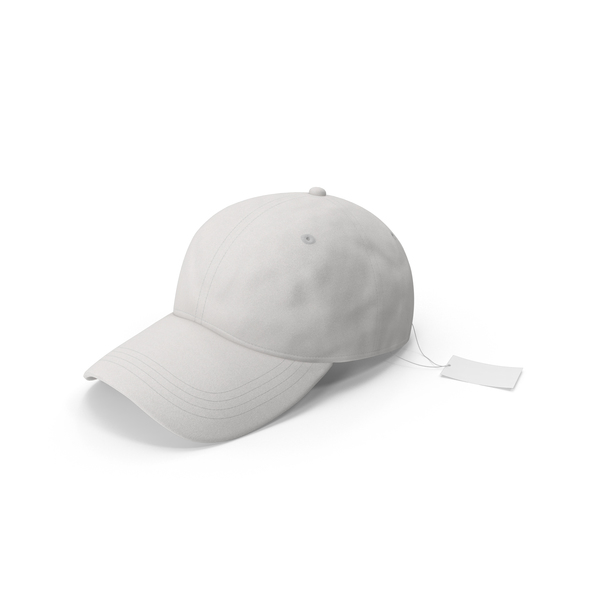 Baseball Hat Mock-up with Tag PNG & PSD Images