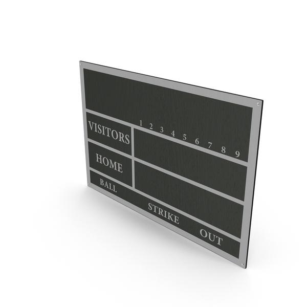 Baseball Scoreboard PNG & PSD Images