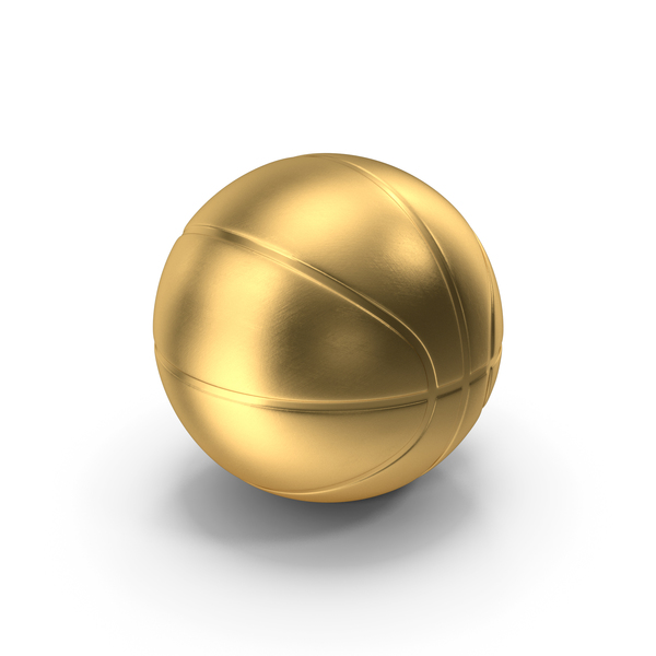Basketball Ball Gold PNG & PSD Images