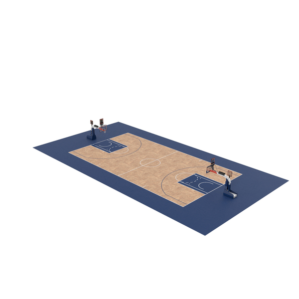 Rim: Basketball Court and Baskets PNG & PSD Images