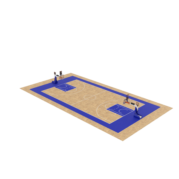 Basketball Court and Baskets PNG & PSD Images