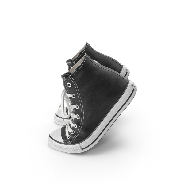 Basketball Leather Shoes Bent PNG & PSD Images