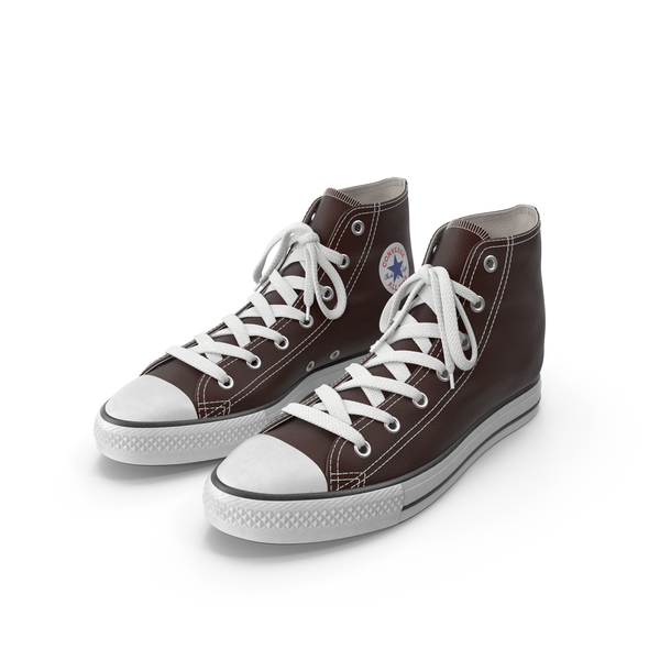 Team Sports: Basketball Leather Shoes Brown PNG & PSD Images